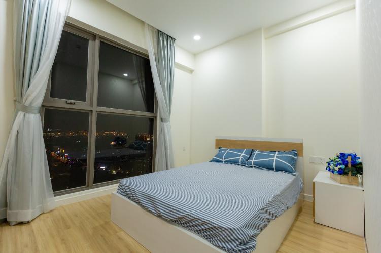 Phòng ngủ Masteri Millennium Quận 4 Căn hộ Masteri Millennium đầy đủ nội thất, hướng Đông Nam.