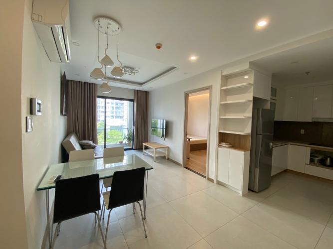 Phòng bếp New City Thủ Thiêm, Quận 2 Căn hộ New City Thủ Thiêm hướng Đông Nam, đầy đủ nội thất.