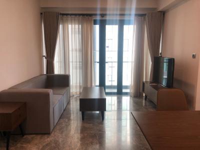 Căn hộ D1 Mension đầy đủ nội thất tiện nghi, view nội khu yên tĩnh.