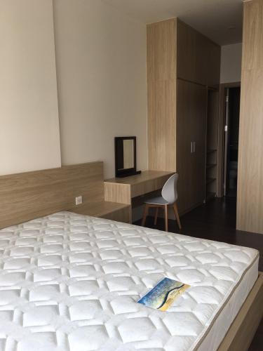 phòng ngủ căn hộ  2 phòng ngủ the sun avenue Căn hộ The Sun Avenue tầng cao, nội thất tiện nghi.