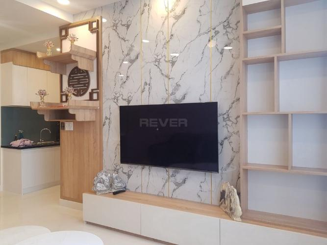 Phòng ngủ căn hộ Green River, Quận 8 Căn hộ Green River view nội khu hồi cực mát mẻ, đầy đủ nội thất.
