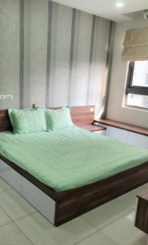 Phòng ngủ , Căn hộ Docklands Sài Gòn , Quận 7 Căn hộ Docklands Sài Gòn tầng thấp view hồ bơi, đầy đủ nội thất