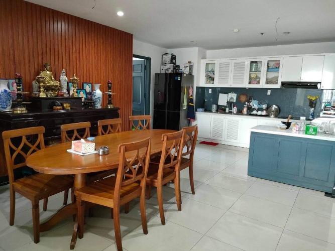 Căn hộ Chánh Hưng - Giai Việt tầng 4 thiết kế kỹ lưỡng, nội thất cơ bản.