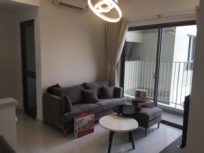 Phòng khách Masteri Thảo Điền Quận 2 Căn hộ Masteri Thảo Điền view thành phố và sông, hướng Tây.