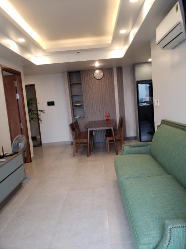Phòng khách Happy Residence Quận 7 Căn hộ Happy Residence view thành phố, đầy đủ nội thất.