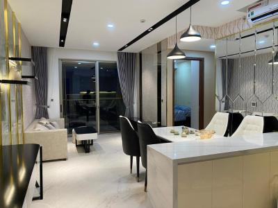 Căn hộ Phú Mỹ Hưng Midtown tầng trung, view nội khu yên tĩnh.
