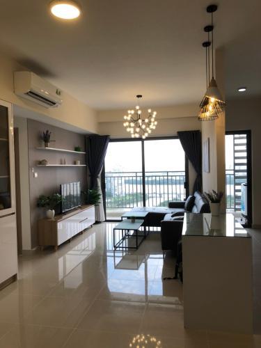 Căn hộ tầng 21 The Sun Avenue nội thất đầy đủ, view sông