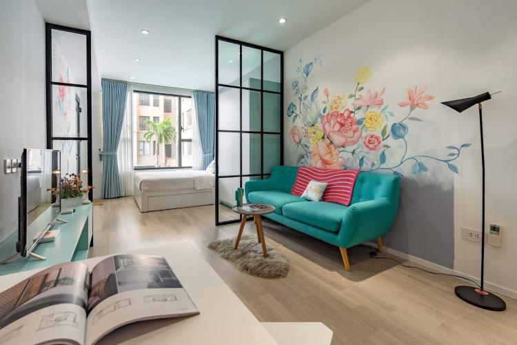 Căn hộ tầng thấp The Tresor nội thất sang trọng hiện đại.