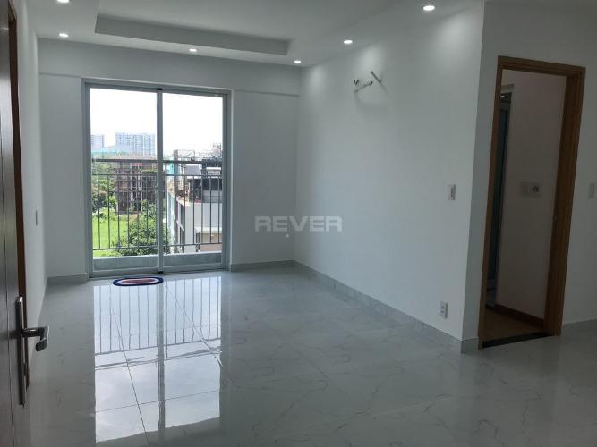 Căn hộ tầng 5 Conic Riverside nội thất cơ bản, cửa hướng Tây Bắc.