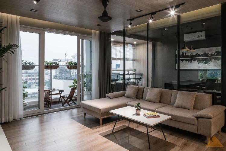 Căn hộ Sky Center tầng 7 đầy đủ nội thất, tiện ích cao cấp.