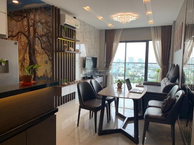 Căn hộ Res 11 tầng 14 view thoáng mát, đầy đủ nội thất.
