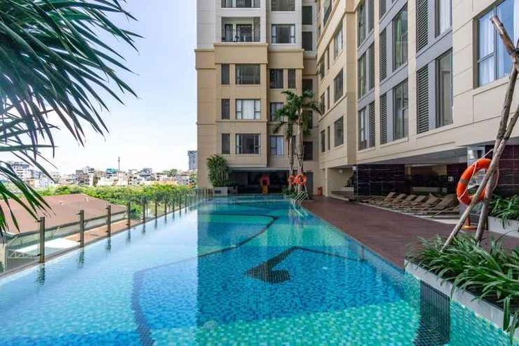 Tiện ích căn hộ The Tresor Căn hộ tầng trung The Tresor thiết kế hiện đại, không gian thoáng mát