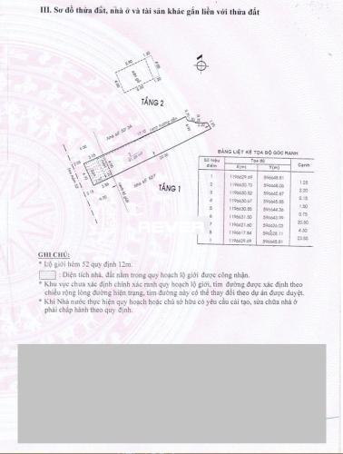 Bản vẽ nhà phố Quận tân Bình Nhà phố hẻm rộng 6m Q.Tân Bình hướng Tây Nam, sổ hồng riêng.
