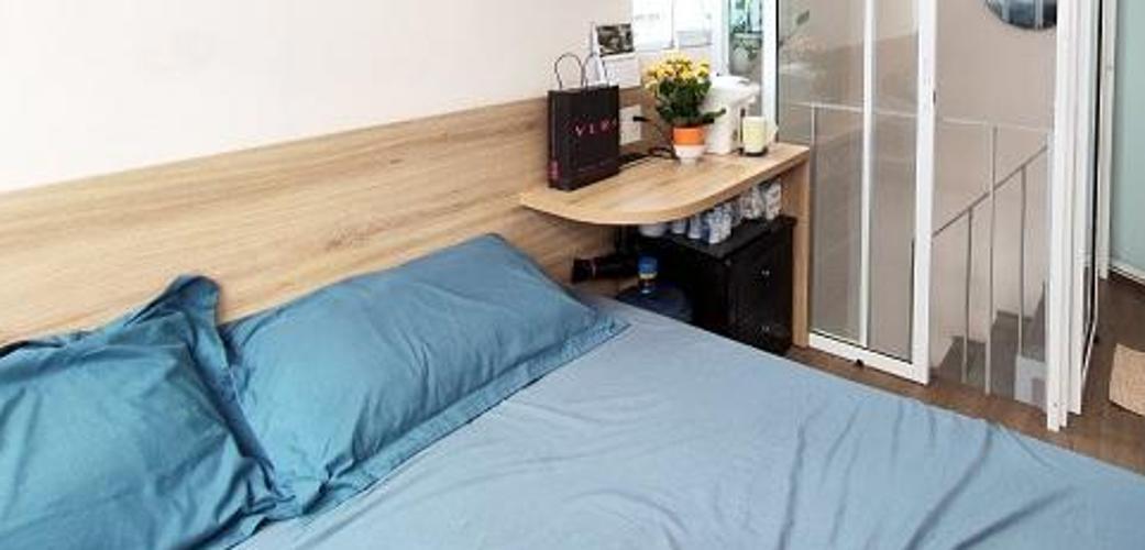 Phòng ngủ nhà phố Quận 8 Nhà phố hẻm xe ba gác Quận 8 diện tích sử dụng 30m2, sổ hồng riêng.