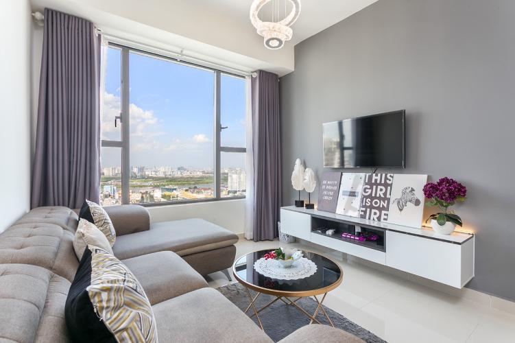 Căn hộ cao cấp RiverGate Residence tầng cao, bàn giao đầy đủ nội thất.