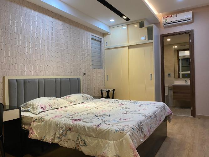 Phòng ngủ master Phú Mỹ Hưng Midtown Căn hộ Phú Mỹ Hưng Midtown tầng trung, view nội khu yên tĩnh.