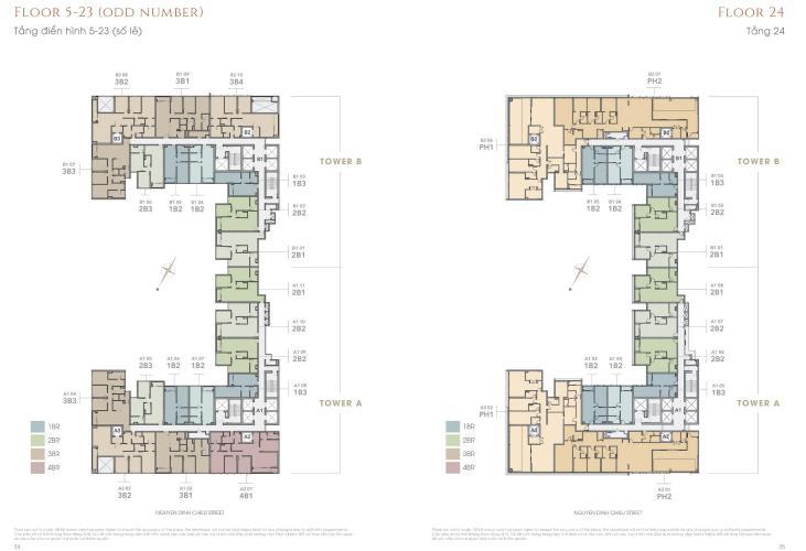 Căn hộ The MarQ tầng 15 view thoáng mát, nội thất cơ bản.