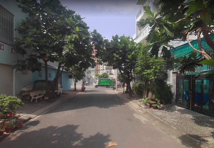 Đường nhà phố Trương Đình Hội, Quận 8 Nhà phố diện tích 38.5m2, thiết kế kỹ lưỡng cùng gam màu xanh mát.