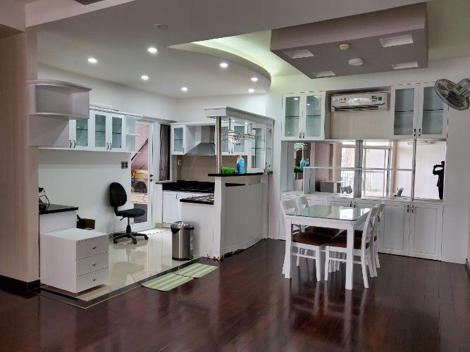 Phòng ăn Green View, Quận 7 Căn hộ Green View đầy đủ nội thất, view nội khu.