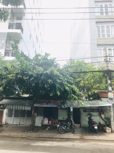 chính diện nhà phố quận 4 Bán nhà mặt tiền đường Tôn Thất Thuyết, Quận 4, thuận tiện buôn bán và kinh doanh, giá cả thương lượng.