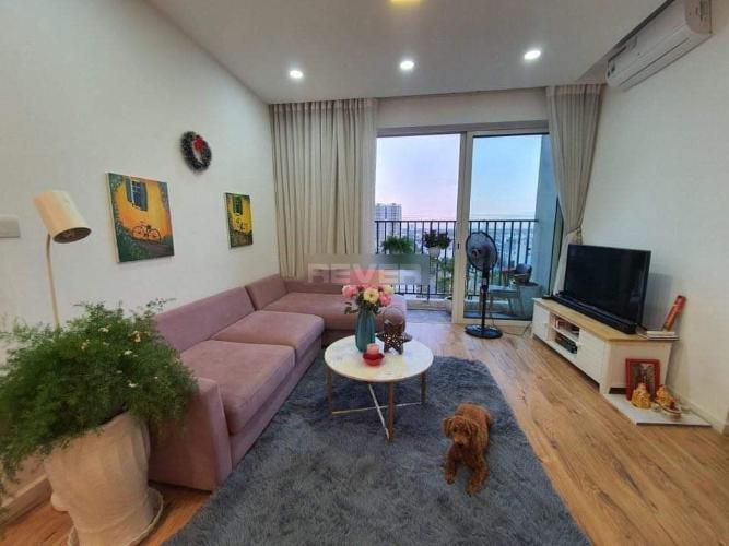 Căn hộ tầng 9 Vista Verde view thoáng mát, đầy đủ nội thất hiện đại.
