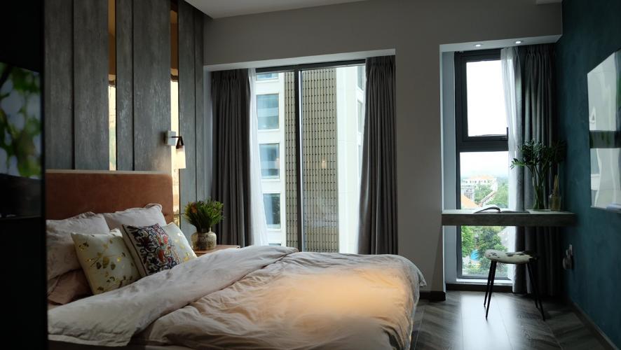 Phòng ngủ Gateway Thảo Điền, Quận 2 Căn hộ duplex Gateway Thảo Điền thiết kế phong cách Bắc Âu.