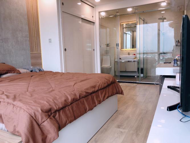 Phòng ngủ Vinhomes Central Park Căn hộ Vinhomes Central Park, Landmark 81 tầng trung, đầy đủ nội thất