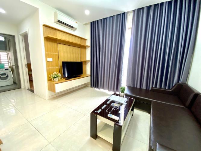 Phòng khách Masteri Millennium Quận 4 Căn hộ Masteri Millennium hướng Nam, đầy đủ nội thất.