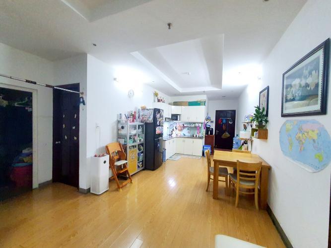 Căn hộ tầng 14 chung cư Mỹ An hướng Tây Nam, đầy đủ nội thất.