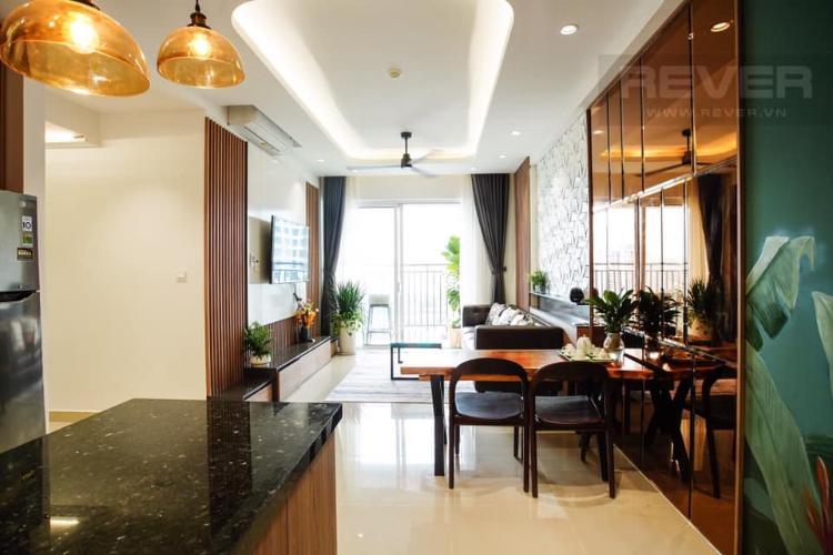 Phòng ăn căn hộ SUNRISE RIVERSIDE Căn hộ Sunrise Riverside tầng trung, ban công hướng Đông.