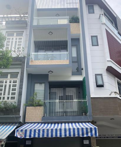 Nhà phố hướng Nam diện tích 72m2, khu dân cư sầm uất tiện kinh doanh.