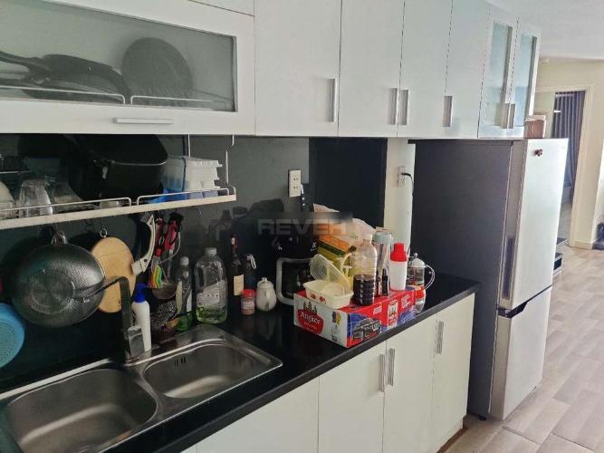 Phòng bếp Happy City, Bình Chánh Căn hộ Happy City đầy đủ nội thất