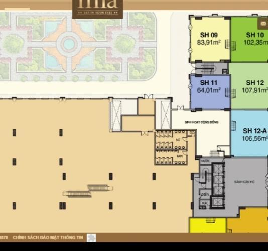 layout sài gòn mia Bán Shop-house Saigon Mia, bàn giao thô dễ dàng trang trí theo concept