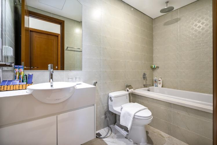 Phòng tắm Căn hộ Vinhomes Central Park Căn hộ Vinhomes Central Park đầy đủ nội thất, hướng Tây Nam.