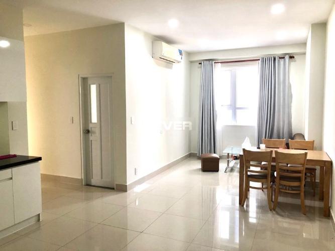 Căn hộ Topaz Elite tầng 12 view thoáng mát, đầy đủ nội thất.