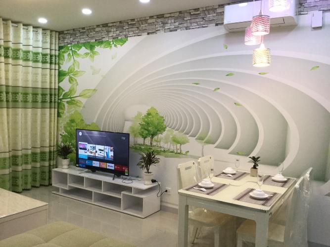Phòng khách Dragon Hill 2, Nhà Bè Căn hộ Dragon Hill 2 view thoáng mát, nội thất đầy đủ.