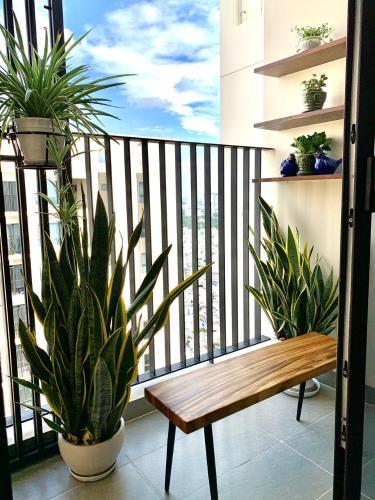 View căn hộ Hado Centrosa Garden , Quận 10 Căn hộ HaDo Centrosa Garden tầng 8, đầy đủ nội thất và tiện ích.