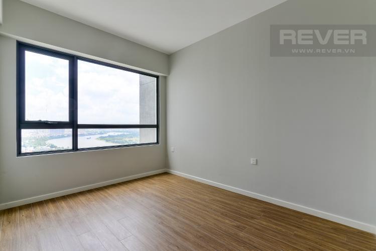 Căn hộ Masteri An Phú tầng 21 thiết kế hiện đại, không có nội thất.