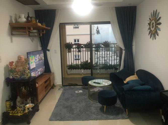 Phòng khách căn hộ Cityland Park Hill, Gò Vấp Căn hộ tầng 9 Cityland Park Hills, ban công hướng Tây thoáng mát.