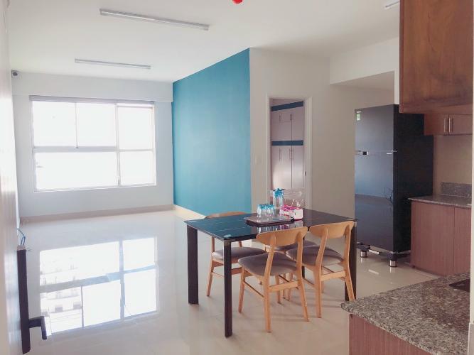 Căn hộ CitiHome tầng 9 có 3 phòng ngủ, bàn giao nội thất cơ bản.