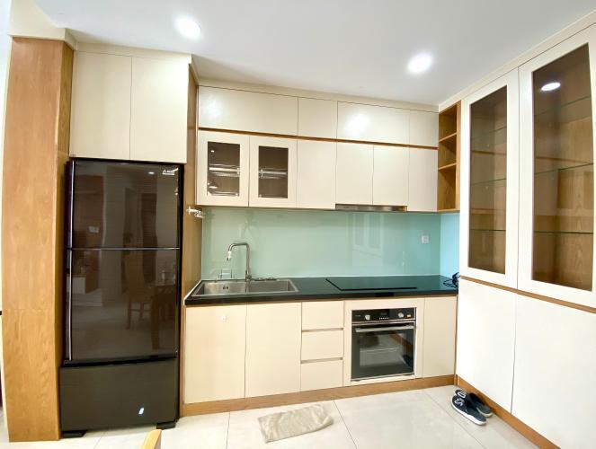 Phòng bếp Masteri Millennium Quận 4 Căn hộ Masteri Millennium hướng Nam, đầy đủ nội thất.