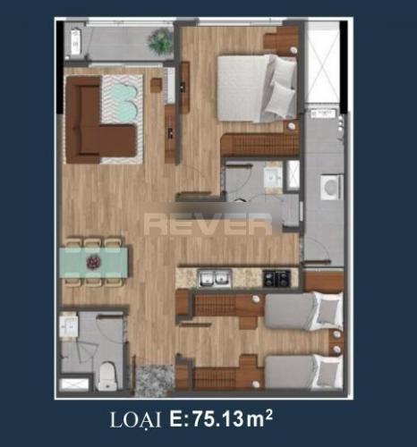 Căn hộ Akari City tầng 17 được thiết kế kỹ lưỡng, tiện ích đầy đủ.