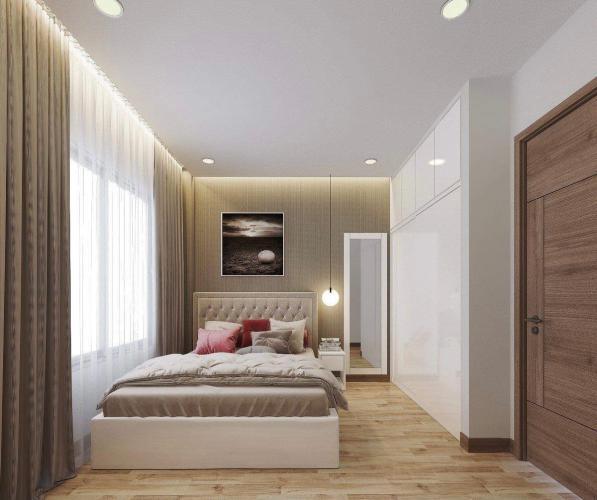 phòng ngủ căn hộ Eco Green Sài Gòn Căn hộ Eco Green Saigon đầy đủ nội thất, ban công thoáng gió