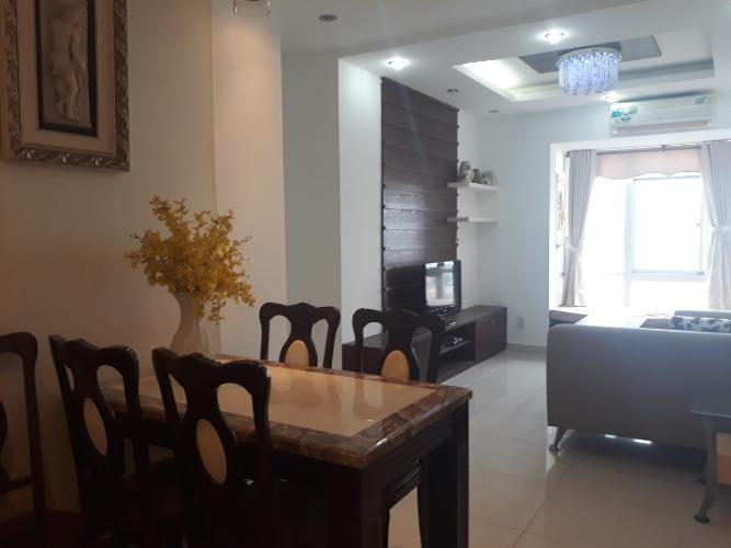 Cho thuê căn hộ Sky Garden, tầng trung tháp Sky Garden 3, diện tích 74m2 - 2 phòng ngủ, đầy đủ nội thất