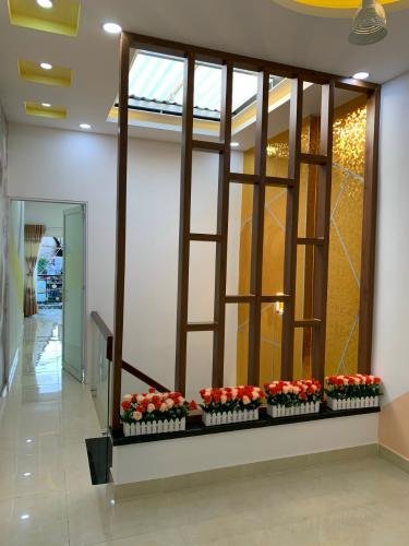 Hành lang phòng ngủ Nhà phố Bình Thạnh diện tích đất 59m2, hẻm trước nhà 6m.