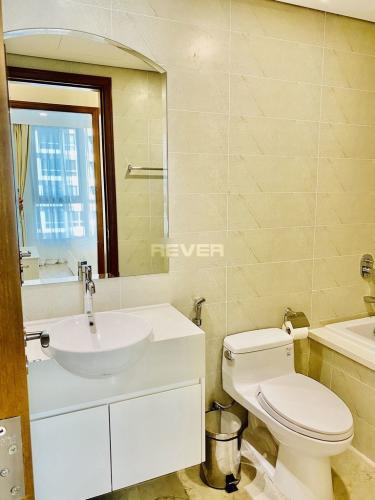 Phòng tắm căn hộ Vinhomes Central Park Căn hộ Vinhomes Central Park tầng cao thoáng mát, view nội khu.