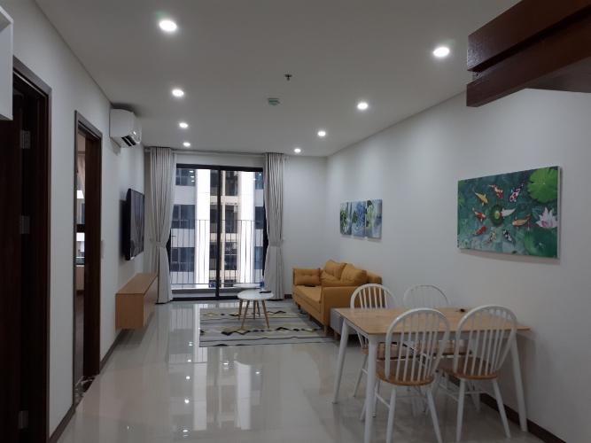 Căn hộ tầng 18 HaDo Centrosa Garden diện tích 84m2, đầy đủ nội thất.