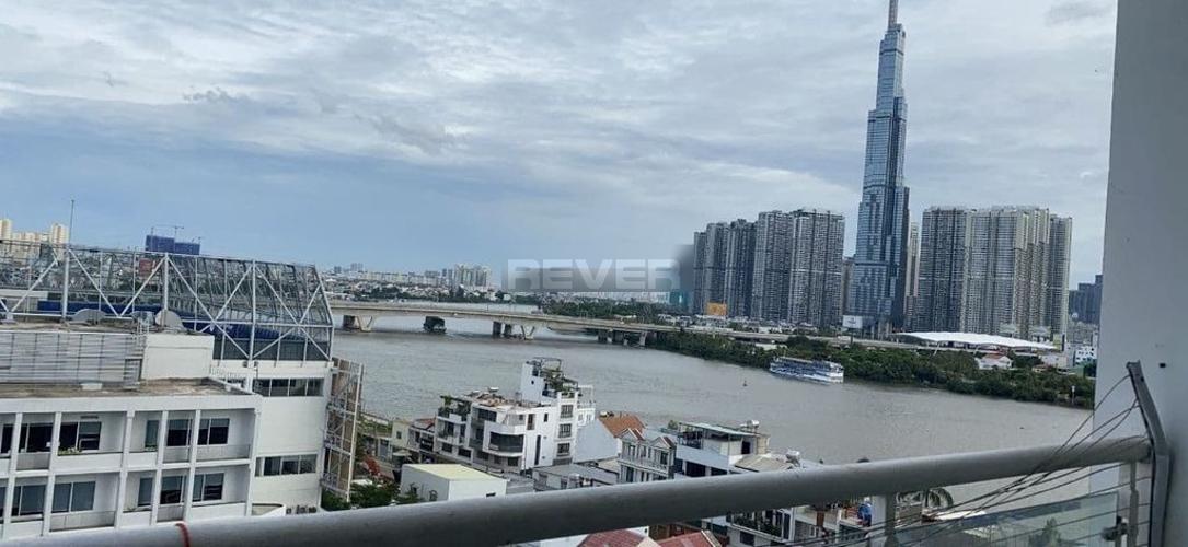 Căn hộ Hoàng Anh River View, Quận 2 Căn hộ góc Hoàng Anh River View tầng 9, view sông Sài Gòn mát mẻ.