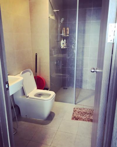 Phòng tắm căn hộ Lexington Residence, Quận 2 Căn hộ tầng cao Lexington Residence 2 phòng ngủ, đầy đủ nội thất.