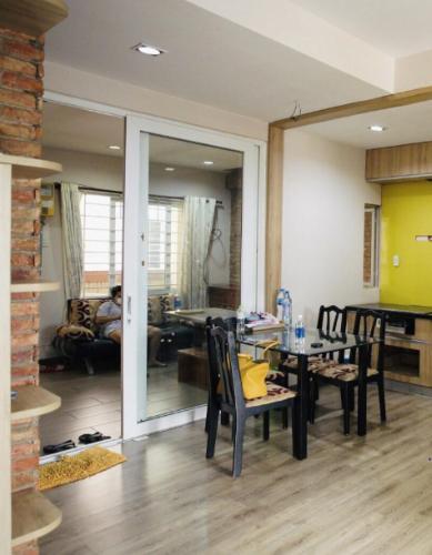 Căn hộ chung cư B5 tầng 9 view thoáng mát, đầy đủ nội thất.